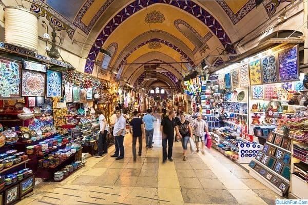 Gợi ý điểm mua sắm đồ lưu niệm về làm quà ở Ai Cập
