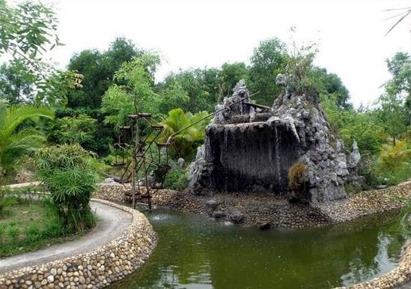Review khu du lịch suối khoáng nóng Uva, Điện Biên