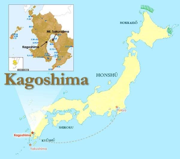 Kinh nghiệm du lịch Kagoshima Nhật Bản tự túc, tiết kiệm. Hướng dẫn, cẩm nang du lịch Kagoshima đường đi, thời điểm, ăn uống.