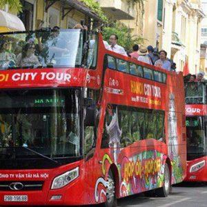 Thông tin chuyến xe bus 2 tầng ở Hà Nội: lộ trình kèm giá vé