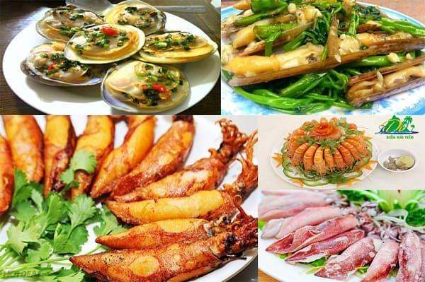 Địa chỉ nhà hàng hải sản ngon, nổi tiếng ở biển Hải Tiến