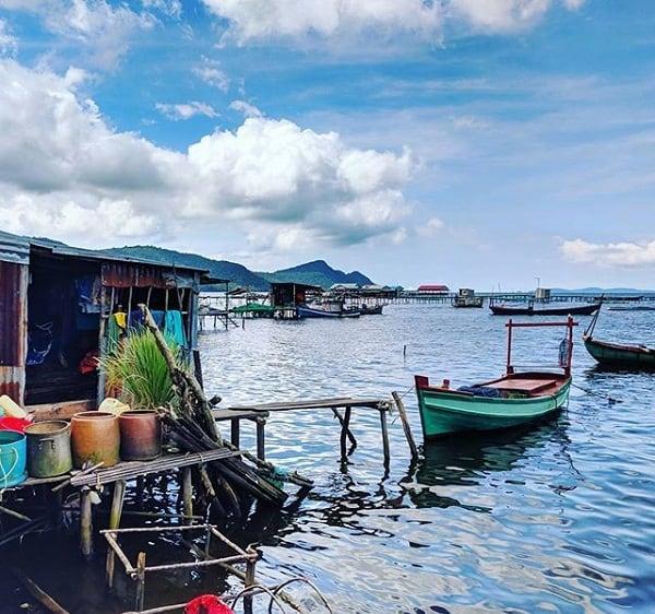 Ghé thăm làng chài Rạch Vẹm Phú Quốc cụ thể đường đi. Hướng dẫn du lịch làng chài Rạch Vẹm đường đi, cảnh đẹp, trải nghiệm