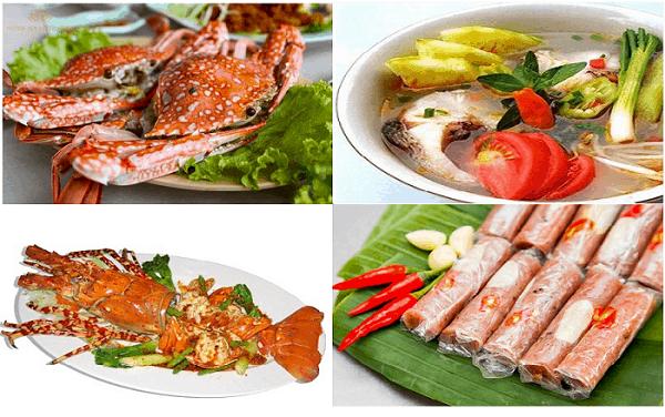 Địa chỉ nhà hàng ngon, nổi tiếng ở biển Hải Tiến. Du lịch Hải Tiến nên đi đâu ăn ngon, rẻ? Quán ăn ngon hấp dẫn ở Hải Tiến nên ghé