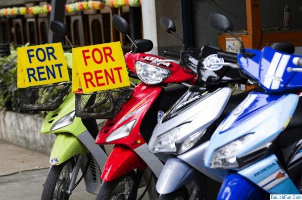 Tư vấn: Kinh nghiệm thuê xe máy ở Nha Trang giá rẻ, uy tín. Hướng dẫn, địa chỉ thuê xe máy tốt ở Nha Trang, địa chỉ, giá thành
