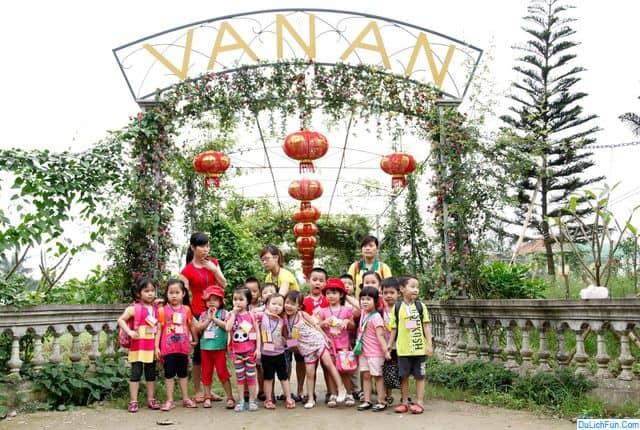 Kinh nghiệm đi khu trải nghiệm Vạn An Hà Nội cụ thể. Hướng dẫn đường đi, giá vé trải nghiệm khu sinh thái Vạn An, Thanh Trì.