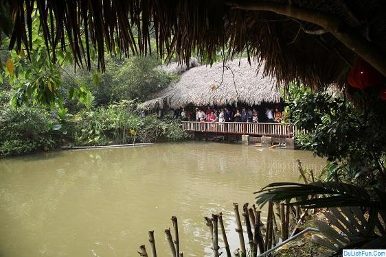 Review Khu du lịch làng nhà sàn Thái Hải Thái Nguyên chi tiết. Hướng dẫn, cẩm nang du lịch làng nhà sàn Thái Hải đường đi, vui chơi