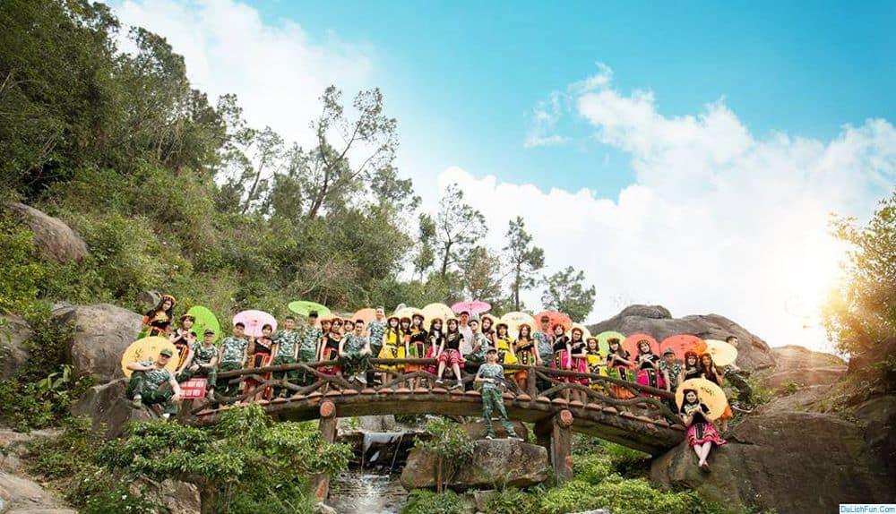 Review khu du lịch sinh thái núi Ngăm cùng lễ hội ánh sáng. Hướng dẫn, cẩm nang du lịch núi Ngăm đường đi, trải nghiệm vui...