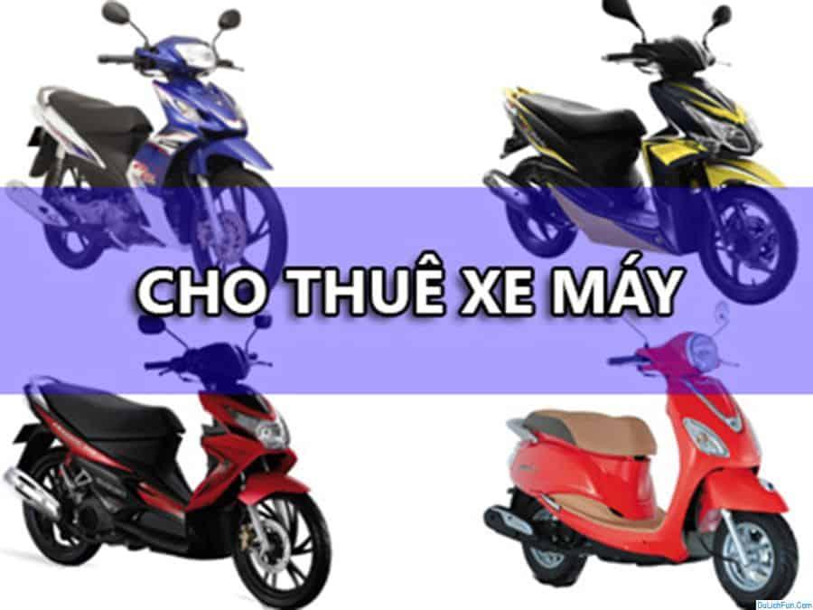 Kinh nghiệm thuê xe máy ở Phú Quốc kèm địa chỉ uy tín, giá rẻ. Hướng dẫn địa chỉ, quán thuê xe máy uy tín, chất lượng, giá rẻ, hot