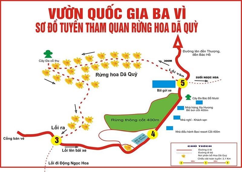 Tổng hợp những địa điểm du lịch hấp dẫn ở Ba Vì: Thiên Sơn - Suối Ngà