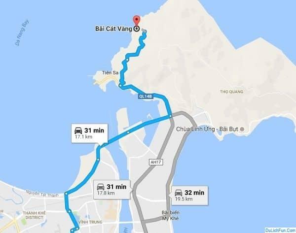 Tổng hợp kinh nghiệm đi du lịch Bãi Cát Vàng, Đà Nẵng . Cẩm nang, hướng dẫn phượt Bãi Cát Vàng cụ thể đường đi, trải nghiệm, ăn ở.