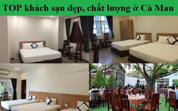 Khách sạn giá rẻ, bình dân ở Cà Mau tiện nghi, chất lượng. Du lịch Cà Mau nên ở khách sạn nào?