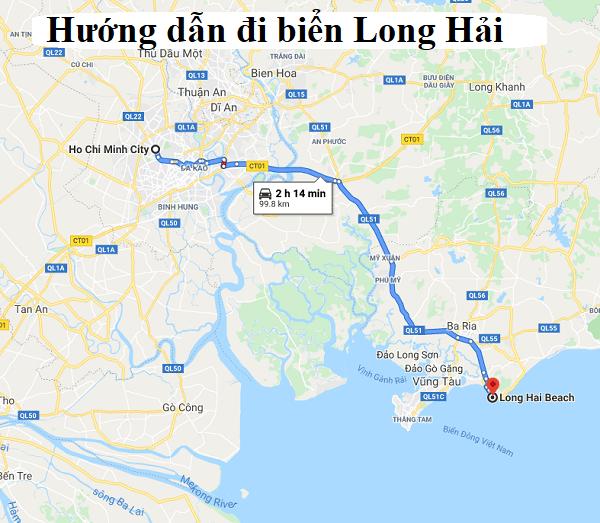 Kinh nghiệm du lịch biển Long Hải. Hướng dẫn đường đi biển Long Hải