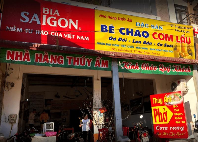 Nhà hàng Thúy Ẩm - Quán ăn ngon nổi tiếng nhất Mộc Châu