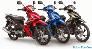 Địa chỉ thuê xe máy ở TP.HCM giá rẻ, an toàn không thế chấp