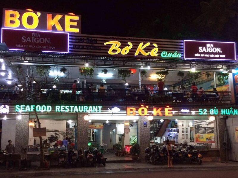 Quán hải sản bình dân ở Nha Trang chất