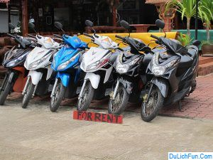 Địa chỉ thuê xe máy ở Cần Thơ giá rẻ, uy tín