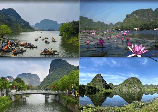Hướng dẫn du lịch Ninh Bình chi tiết. Địa điểm du lịch nổi tiếng ở Ninh Bình. Tràng An