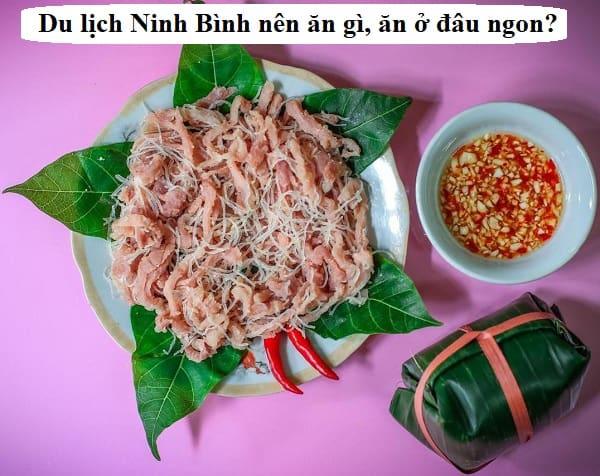 Hướng dẫn tham quan, du lịch Ninh Bình về ăn uống. Đặc sản nem chua Yên Mạc ở NInh Bình