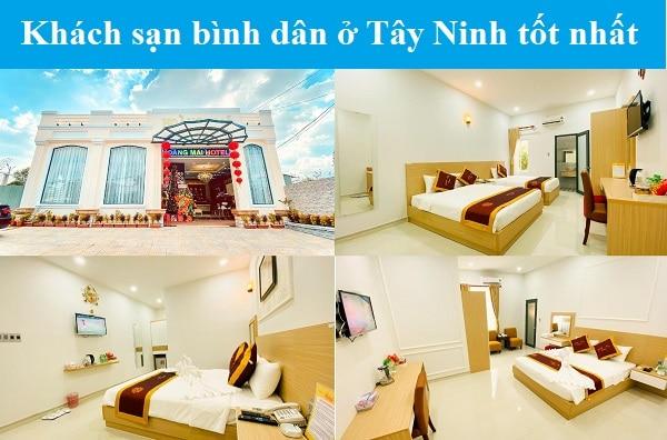 Khách sạn bình dân, giá rẻ ở Tây Ninh. Tây Ninh có khách sạn nào đẹp, giá rẻ? Khách sạn Hoàng Mai
