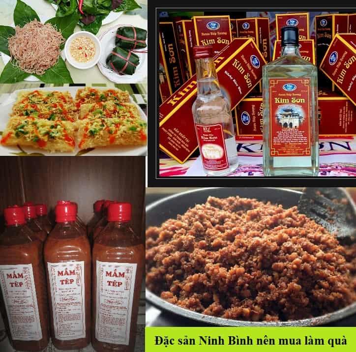 Kinh nghiệm du lịch Ninh Bình nên mua gì về làm quà. Đặc sản Ninh Bình làm quà