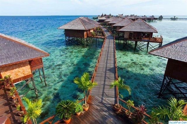 Kinh nghiệm du lịch đảo Mabul điểm du lịch mới ở Malaysia. Hướng dẫn, cẩm nang du lịch đảo Mabul cụ thể đường đi, ăn ở...