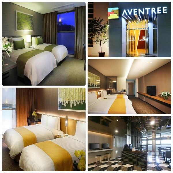 Khách sạn ở Busan đẹp, giá rẻ. Hotel Aventree Busan
