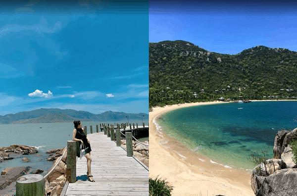 Kinh nghiệm du lịch Nha Trang tự túc. Địa điểm du lịch nổi tiếng ở Nha Trang. Vịnh Ninh Vân
