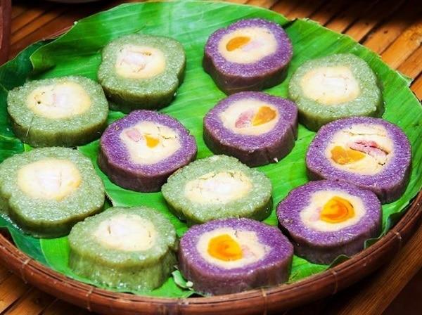 Món ăn đặc sản Phú Quốc, bánh tét cật mật