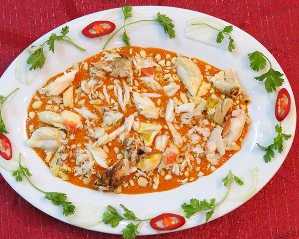 Món ăn ngon ở Phú Quốc, tiết canh cua