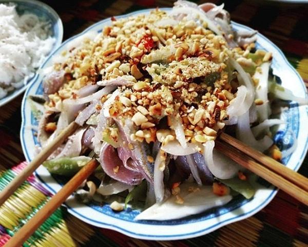 Ăn gì ở Phú quốc? Gỏi cả trích Phú Quốc