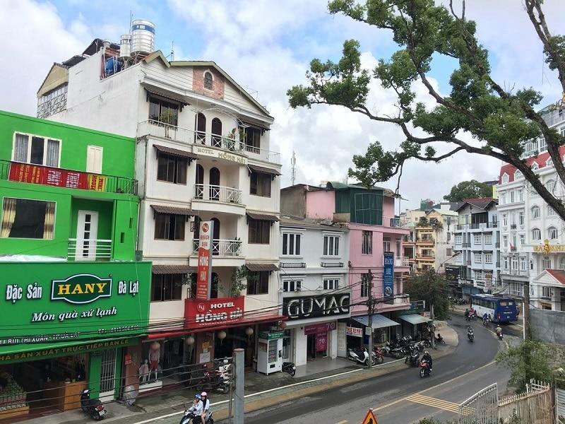 Kkhách sạn giá rẻ và tiện nghi ở Đà Lạt.