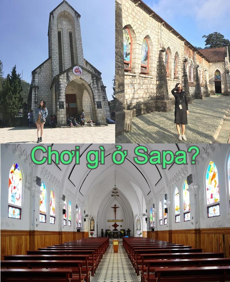 Địa điểm du lịch nổi tiếng Sapa. Đi đâu chơi Sapa? Nhà thờ đá
