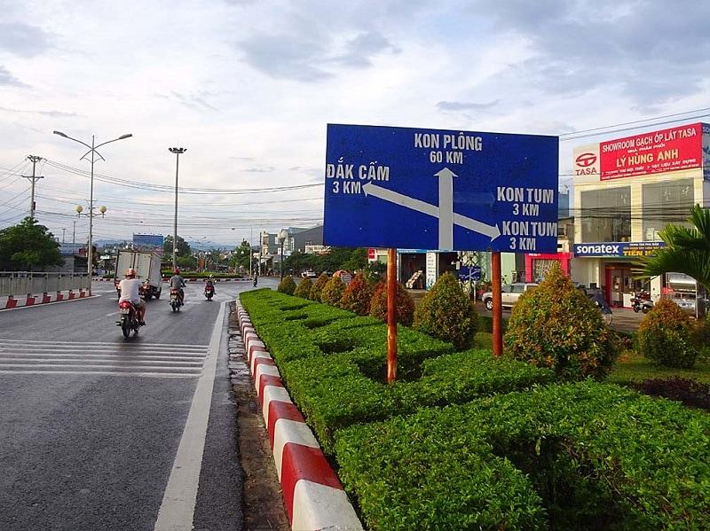 Hướng dẫn đường đi & phương tiện du lịch Kon Tum