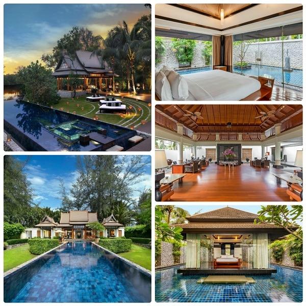 Kinh nghiệm du lịch Phuket, khách sạn cao cấp ở Phuket, DoublePool Villas by Banyan Tree
