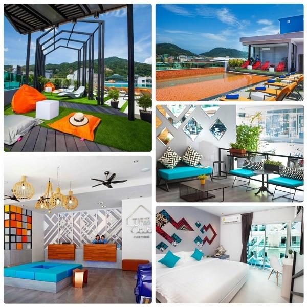 Kinh nghiệm du lịch Phuket, The Crib Patong Hotel