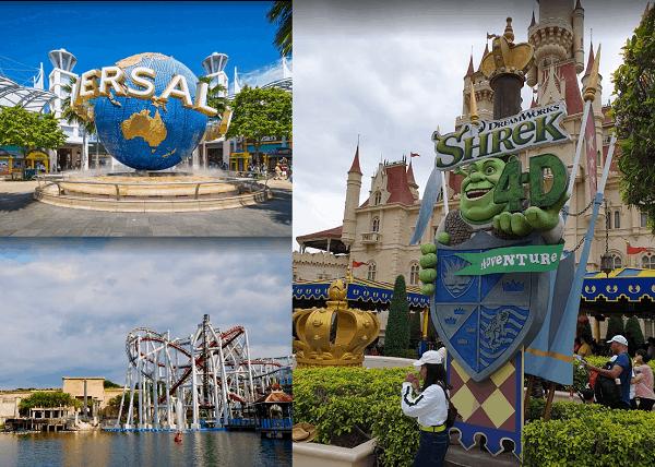 Kinh nghiệm du lịch Singapore. Du lịch Singapore đi đâu chơi? Universal Studio Singapore