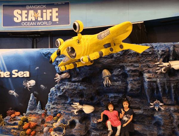 Kinh nghiệm du lịch bụi Bangkok mới nhất. Review, hướng dẫn du lịch Bangkok. Thủy cung SEA LIFE