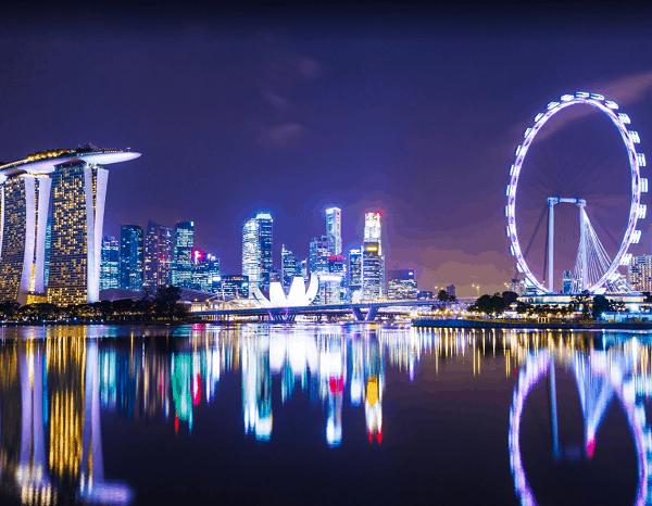 Kinh nghiệm du lịch bụi Singapore giá rẻ. Địa điểm du lịch nổi tiếng ở Singapore. Singapore Flyer