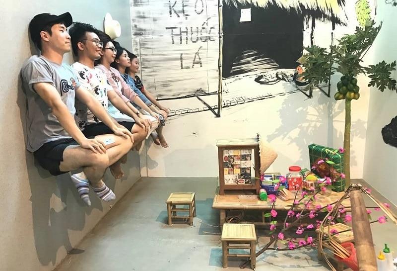 Địa điểm du lịch ở Vũng Tàu, nhà úp ngược Vũng Tùa