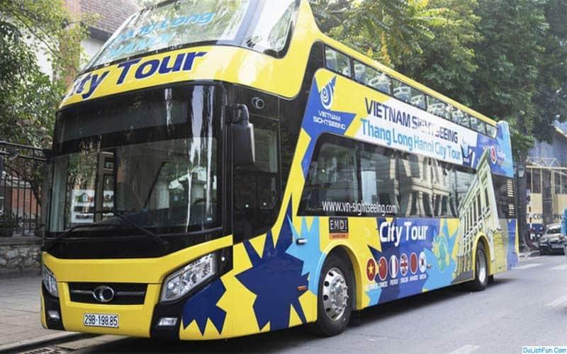 cập nhật thông tin xe bus 2 tầng ở Hạ Long giá vé, lộ trình. Xe bus tầng ở Hạ Long lộ trình cụ thể, giá vé cho từng chặng cụ thể