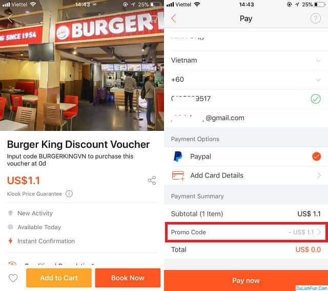 Cập nhật các mã giảm giá trên Klook: coupon & khuyến mãi HOT. Các mã giảm giá, khuyến mãi trên Klook mới nhất kèm cách dùng.