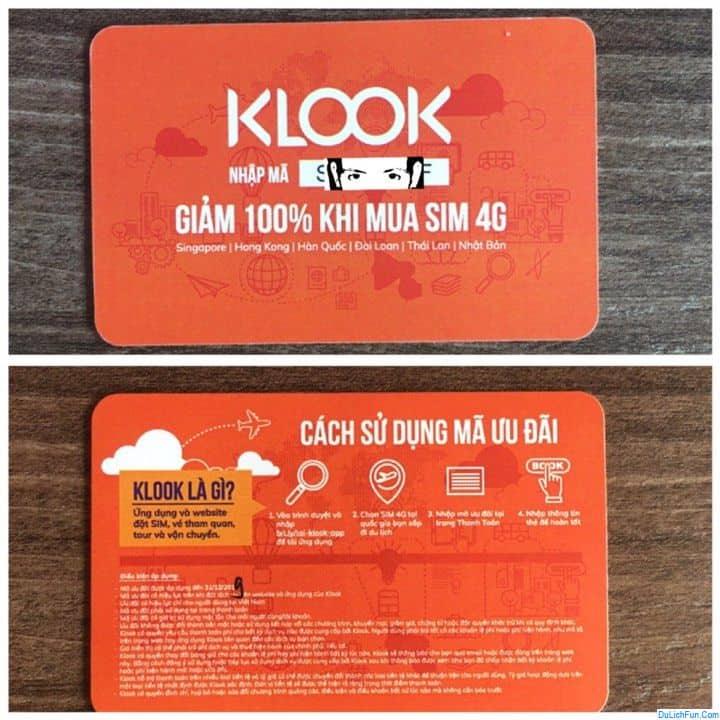 Hướng dẫn mua vé tham quan trên Klook giá rẻ, chủ động. Klook là gì? Klook giúp gì cho việc du lịch? các bước sử dụng Klook...