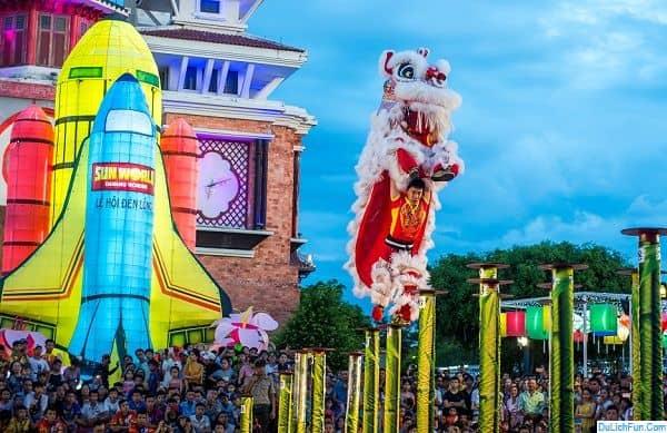Sự kiện ở công viên Châu Á dịp 2/9. Lễ hội lân sư rồng quốc tế 2019