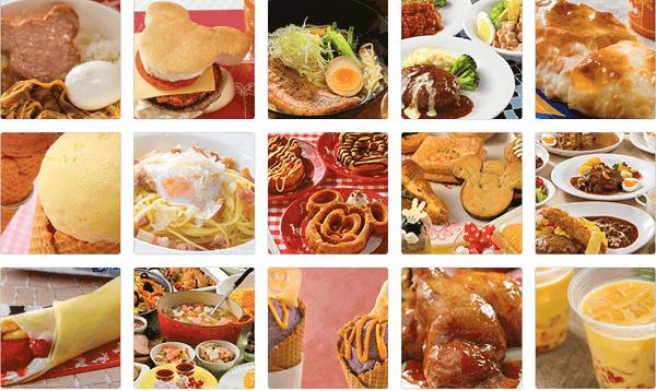 Đi Tokyo Disneyland nên ăn gì? Các món ăn bán trong Tokyo Disneyland
