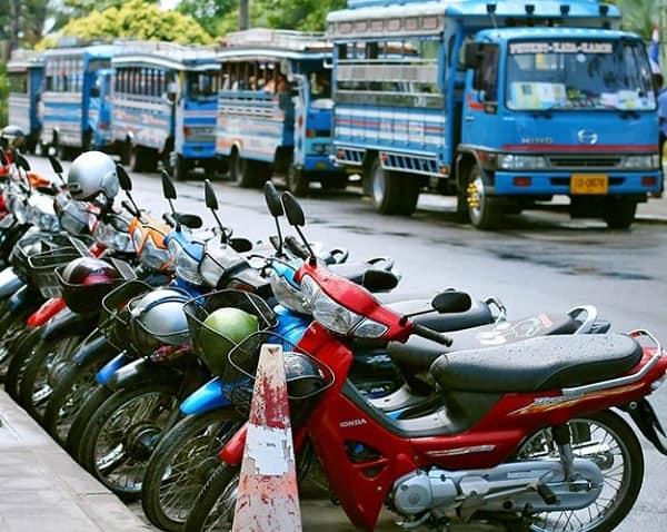 Địa chỉ thuê xe máy ở Bangkok cụ thể, uy tín kèm giá thành. Kinh nghiệm thuê xe máy ở Bangkok giá vé, địa chỉ, thủ tục, lưu ý...