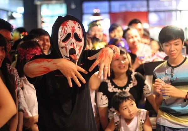 địa điểm truyền thống tổ chức halloween nổi tiếng ở Sài Gòn