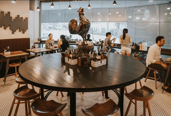 Du lịch Singapore nên uống cà phê ở đâu? Quán cà phê đẹp ở Singapore.