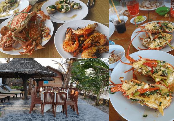 Địa chỉ quán hải sản ngon, giá rẻ ở Mũi Né, Phan Thiết. Ăn hải sản ở đâu Mũi Né ngon, giá bình dân?