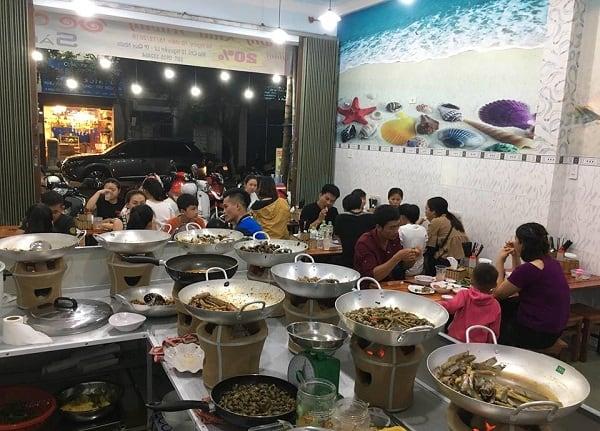 Địa chỉ quán ốc ngon, bổ, rẻ ở Quy Nhơn. Du lịch Quy Nhơn ăn ốc ở đâu ngon? Quán ốc chảo Sài Gòn ở Quy Nhơn