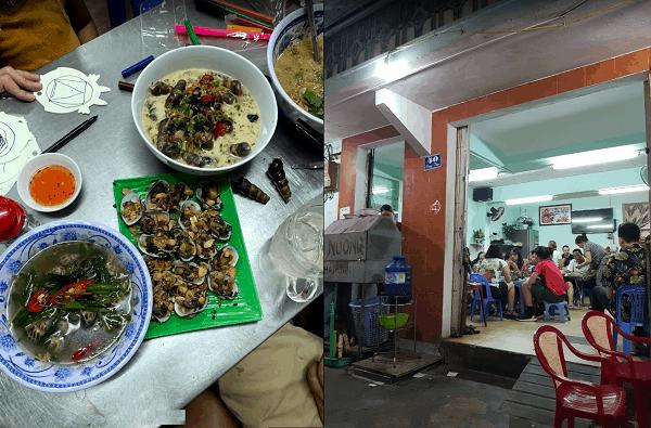 Quán ốc ngon, giá rẻ ở Quy Nhơn nổi tiếng, đông khách. Nên ăn ốc ở đâu Quy Nhơn? Quán ốc Cô Xí